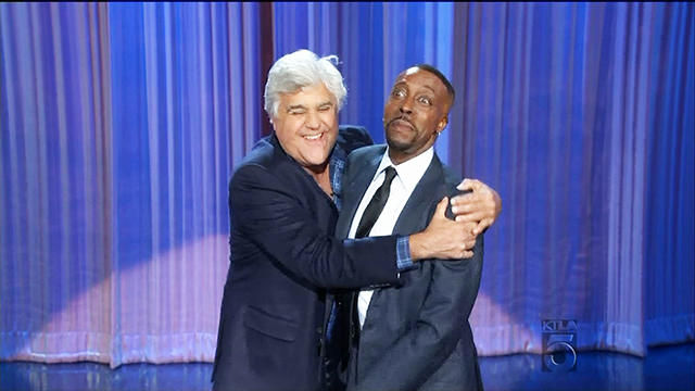 News video: Jay Leno's Surprise Return to Late Night