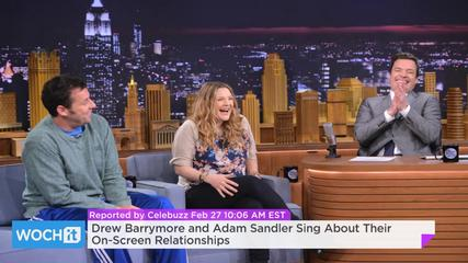 News video: Drew Barrymore And Adam Sandler Sing About Their On-Screen Relationships